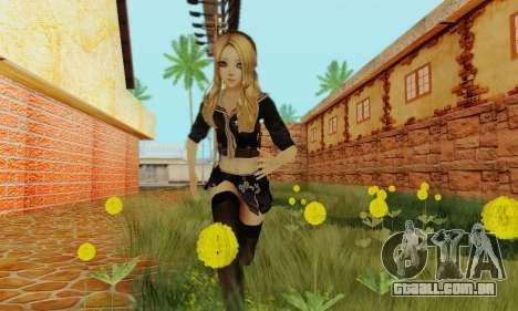 Babydoll Skin para GTA San Andreas terceira tela