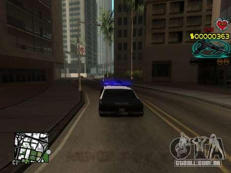 C-HUD Guns para GTA San Andreas quinto tela