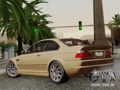 BMW M3 E46 2005 para GTA San Andreas esquerda vista