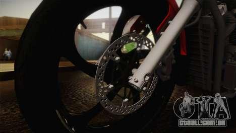Yamaha Star Stryker 2012 para GTA San Andreas vista direita