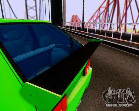 VAZ 2108 Tuneable para GTA San Andreas vista superior