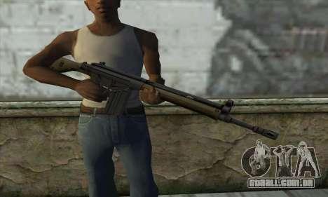 G3A3 para GTA San Andreas terceira tela