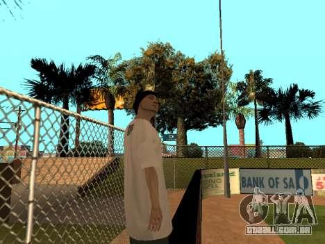 Pele Tracer FALHA Equipe para GTA San Andreas por diante tela