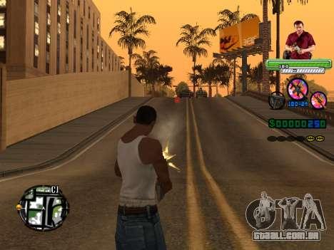 C-HUD Michael (GTA V) para GTA San Andreas terceira tela