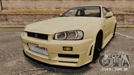 Nissan Skyline R34 Nismo Z-Tune para GTA 4