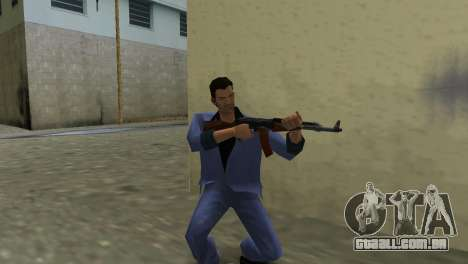 Kalashnikov Modernizado para GTA Vice City segunda tela