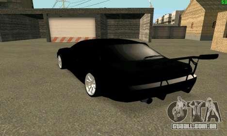 Nissan Silvia S14 para GTA San Andreas esquerda vista