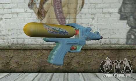 Water Gun para GTA San Andreas segunda tela