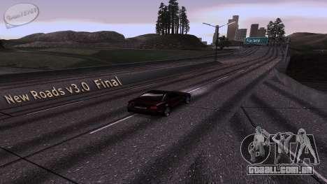 New Roads v3.0 Final para GTA San Andreas