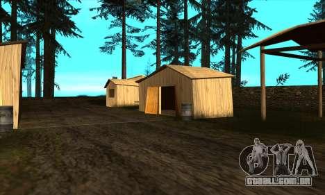 Casas novas no PANOPTICON para GTA San Andreas por diante tela