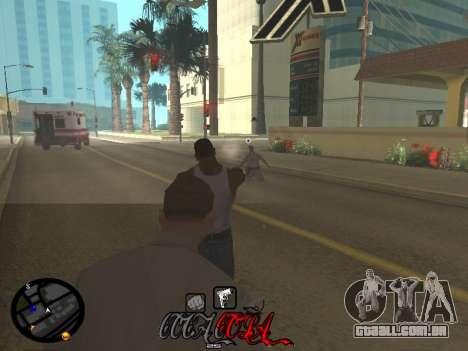C-HUD Coca-Cola para GTA San Andreas sexta tela