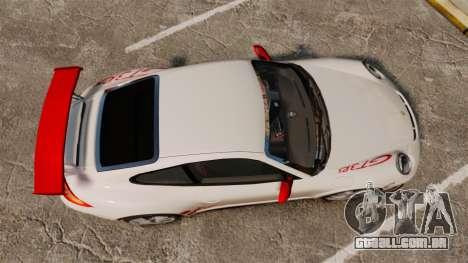 Porsche 997 Carrera GT3 RS para GTA 4 vista direita