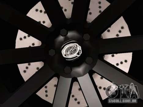 Chrysler 300 SRT8 Black Vapor Edition para vista lateral GTA San Andreas