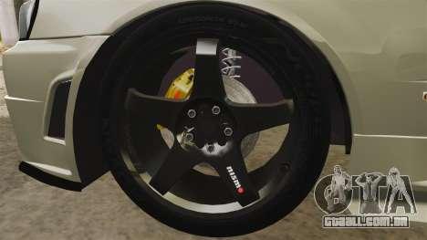 Nissan Skyline R34 Nismo Z-Tune para GTA 4 vista de volta