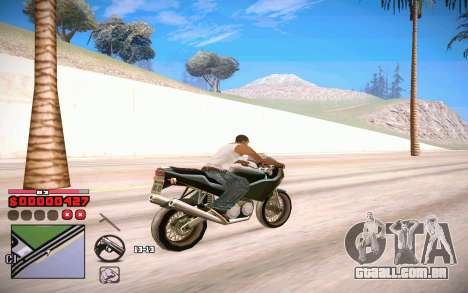 C-HUD by ComPot para GTA San Andreas por diante tela