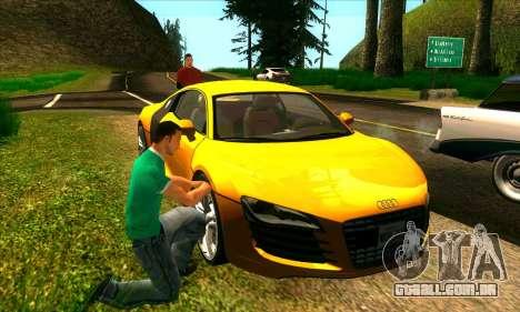 Situação de vida v2.0 para GTA San Andreas segunda tela