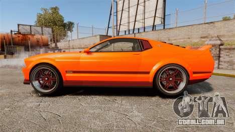 GTA V Vapid Dominator wheels v2 para GTA 4 esquerda vista