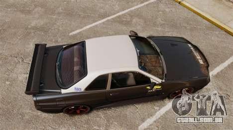 Nissan Skyline GT-R NISMO S-tune Amuse Carbon R para GTA 4 vista direita