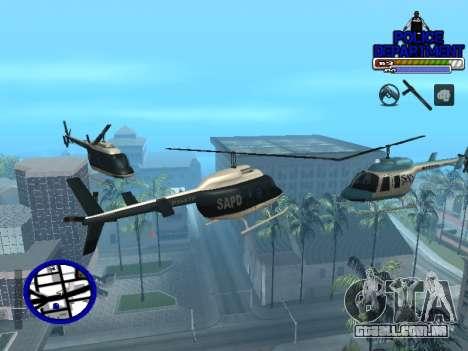 С-Hud Do Departamento De Polícia De para GTA San Andreas quinto tela