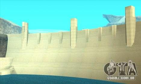 Nova represa Sherman para GTA San Andreas