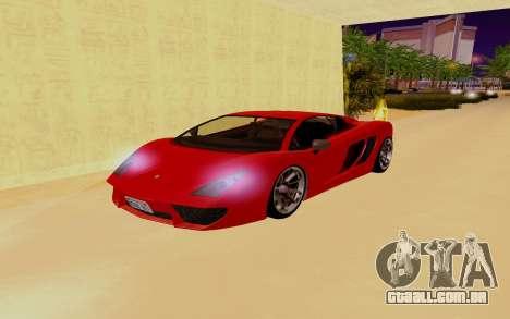 GTA 5 Pegassi Vacca para GTA San Andreas vista inferior