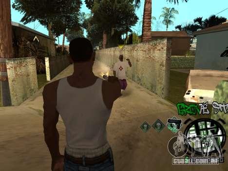 C-HUD Groove Street para GTA San Andreas sétima tela