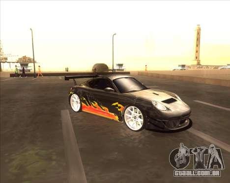 Porshe Cayman S из NFS MW para GTA San Andreas