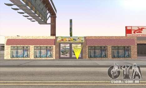 Loja De Alimentos Saudáveis para GTA San Andreas