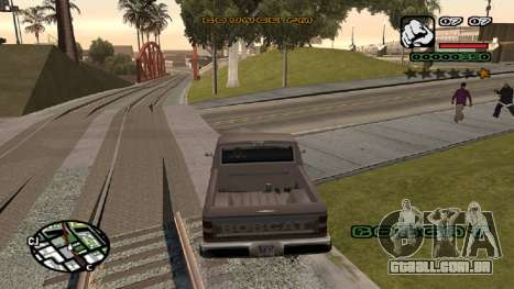 Nova fonte V.2 para GTA San Andreas terceira tela