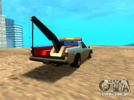 Novo Reboque (Picador) para GTA San Andreas vista direita