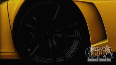 Lamborghini Gallardo LP570-4 Edizione Tecnica para GTA San Andreas vista superior