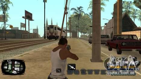 C-HUD Kings of Rap para GTA San Andreas quinto tela