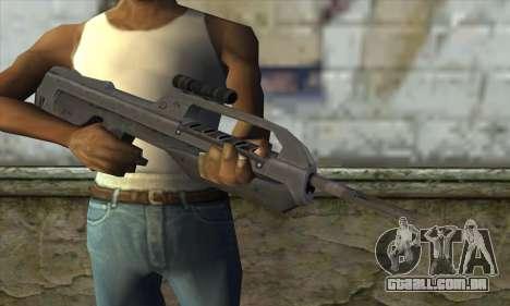 Halo 2 Battle Rifle para GTA San Andreas terceira tela