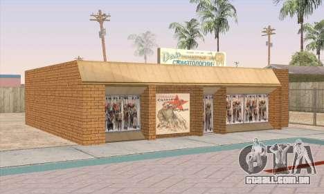 Loja De Alimentos Saudáveis para GTA San Andreas quinto tela