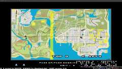 Mapa em tempo real