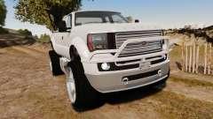 GTA V Vapid Sandking XL wheels v1 para GTA 4