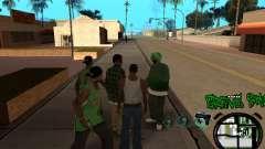 C-HUD Groove Street