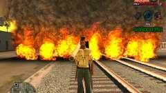 C-HUD Niggas para GTA San Andreas