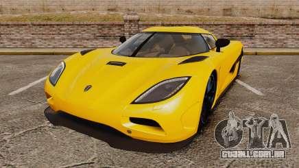 Koenigsegg Agera TE [EPM] para GTA 4