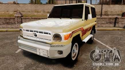Toyota Land Cruiser 70 2014 para GTA 4