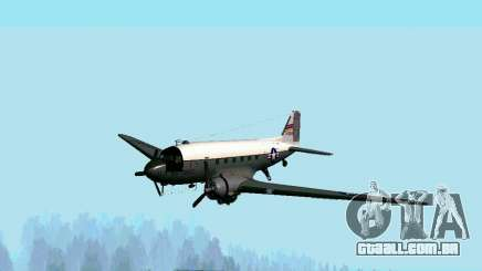 C-47 Dakota USAF para GTA San Andreas