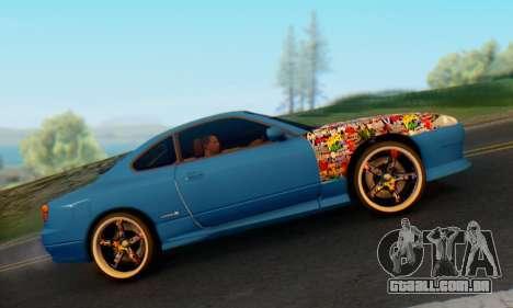 Nissan Silvia S15 Metal Style para GTA San Andreas vista direita