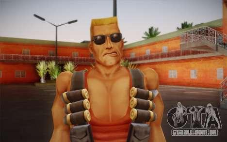Duke Nukem para GTA San Andreas terceira tela