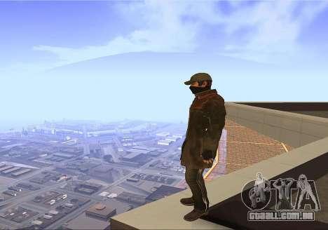 Aiden Pearce para GTA San Andreas