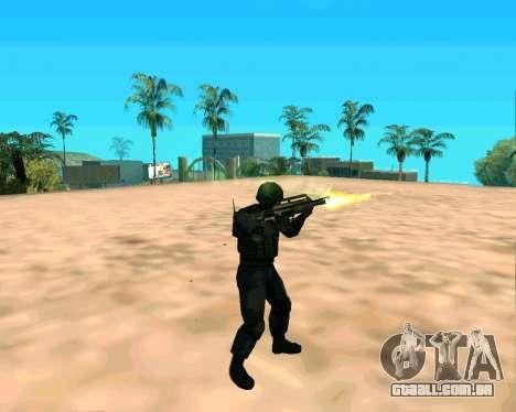 Jackhammer из Max Payne para GTA San Andreas quinto tela