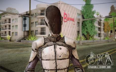 Zero из Borderlands 2 para GTA San Andreas terceira tela