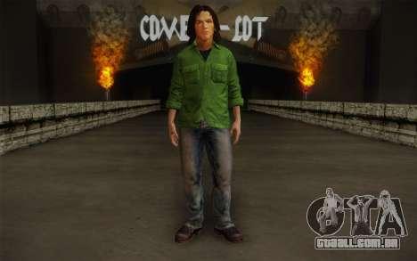 Sam Winchester из Sobrenatural para GTA San Andreas