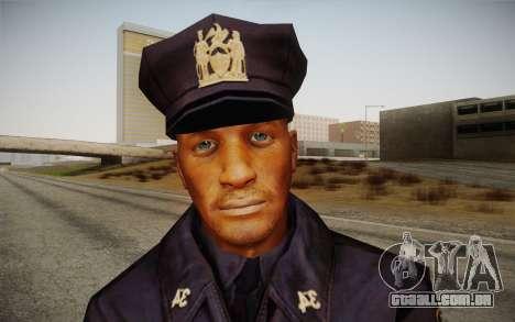Policeman from Alone in the Dark 5 para GTA San Andreas terceira tela