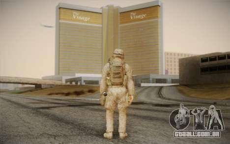 Soldados do Black Ops 2 para GTA San Andreas segunda tela