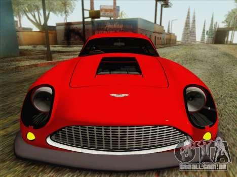 Aston Martin DB4 Zagato 1960 para GTA San Andreas vista traseira
